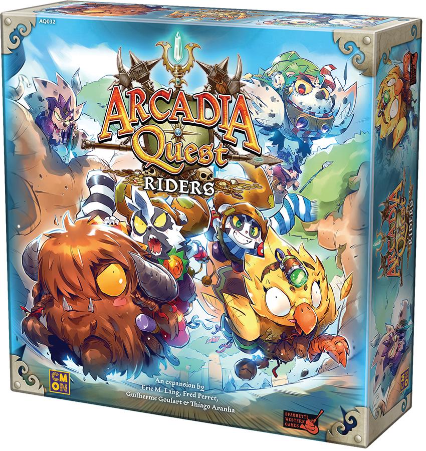 Arcadia Quest: Riders Box Front