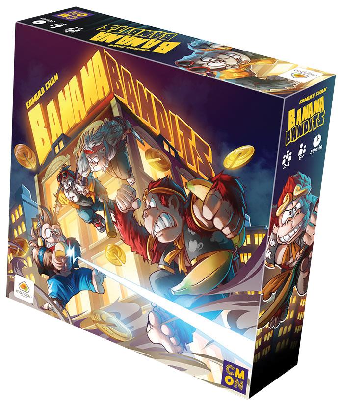 Banana Bandits Box Front