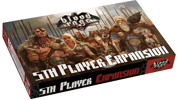 Blood Rage: 5th Player Expansion Box Front