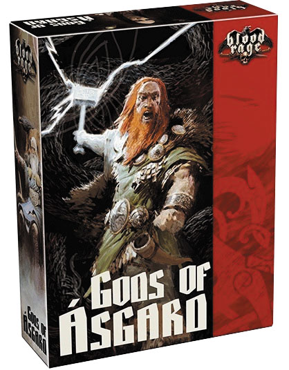 Blood Rage: Gods Of Asgard Expansion Box Front
