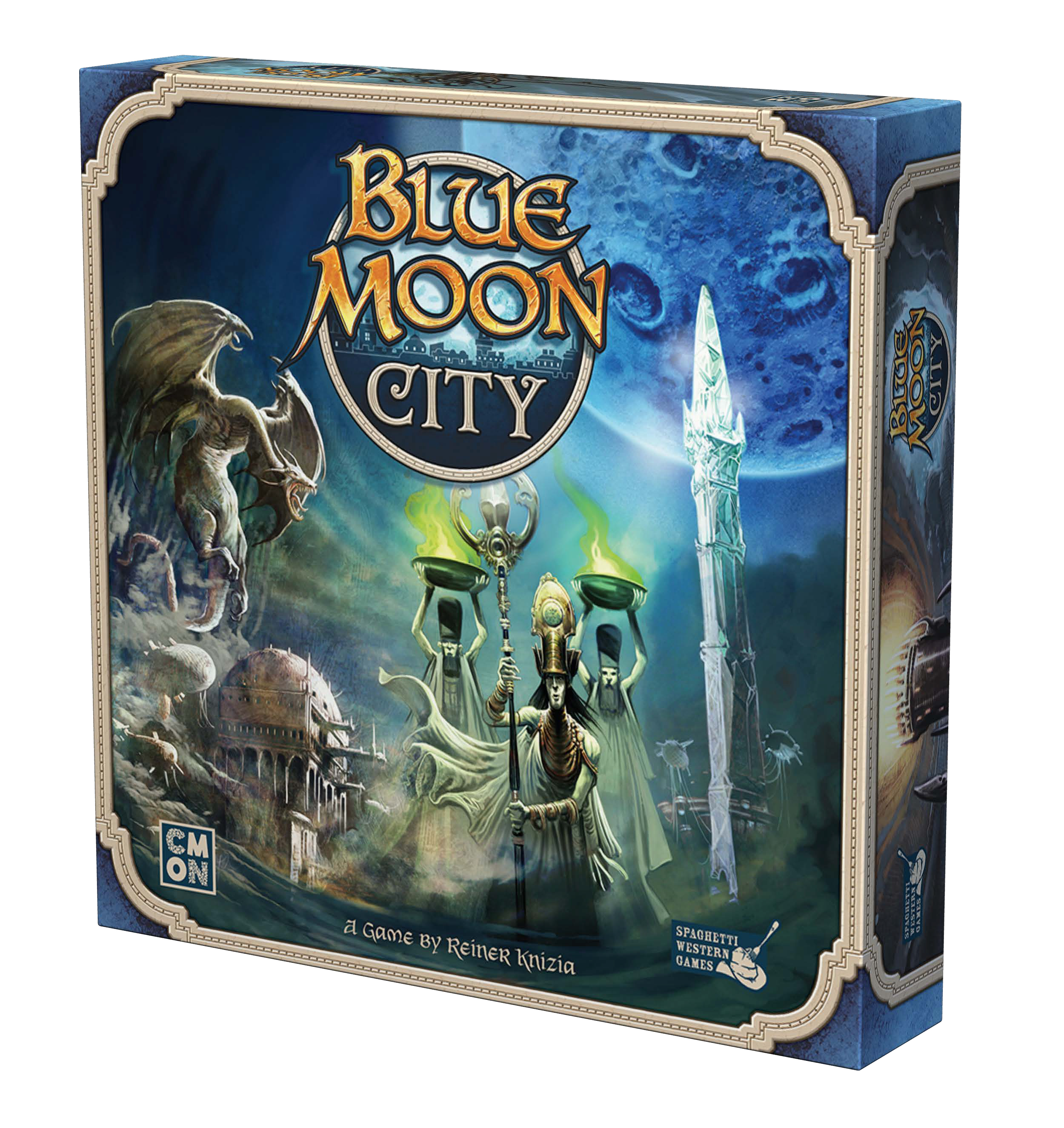Blue Moon City Demo Copy Game Box