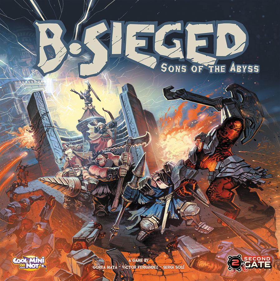 B-sieged Box Front