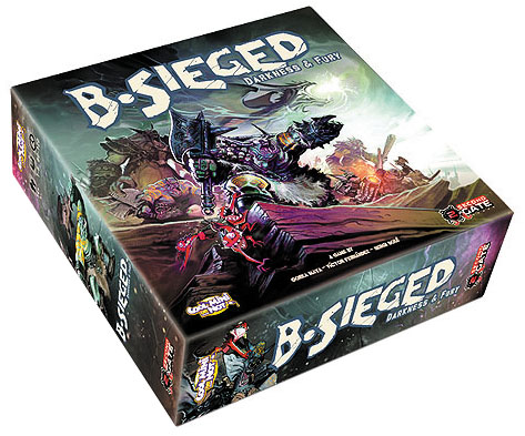 B-sieged: Darkness And Fury Expansion Box Front