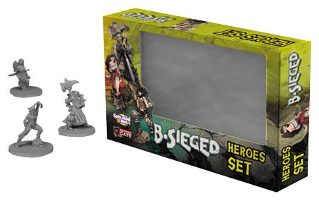 B-sieged: Hero Set 1 Box Front