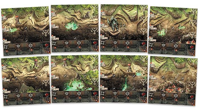 B-sieged: Encampment Tile Set Box Front