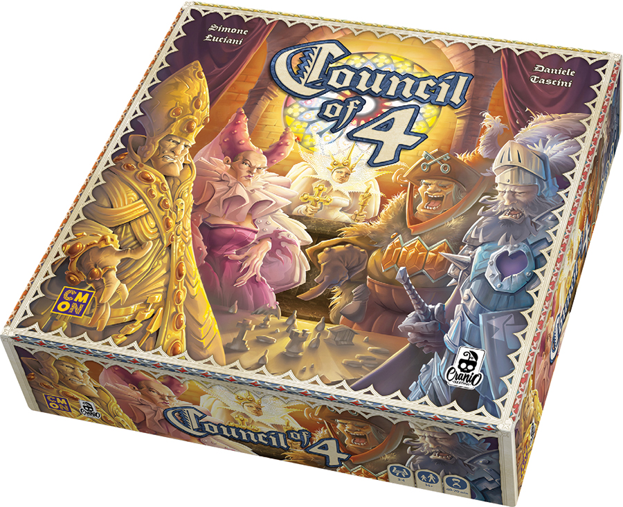 Council Of 4 Box Front
