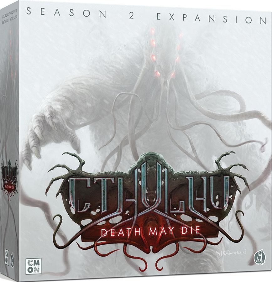 Cthulhu: Death May Die - Season 2 Expansion Game Box