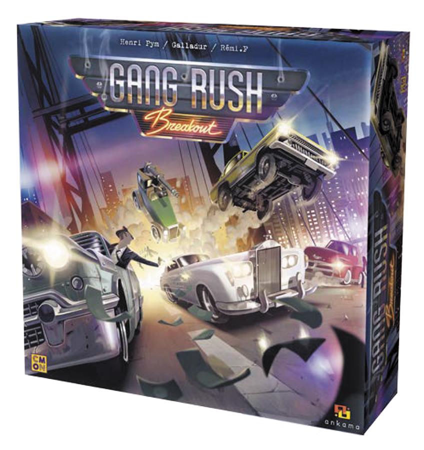 Gang Rush: Breakout Box Front