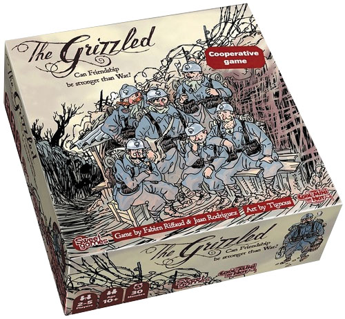 The Grizzled Box Front