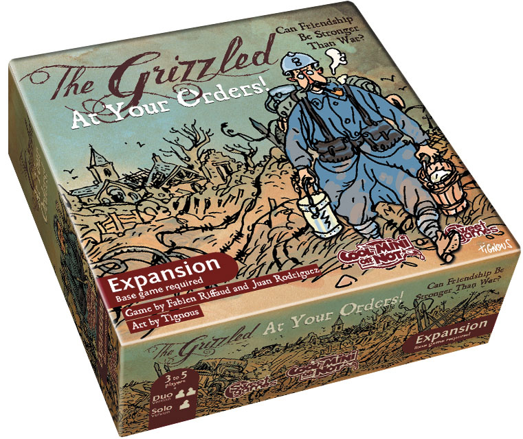 The Grizzled: At Your Orders Box Front