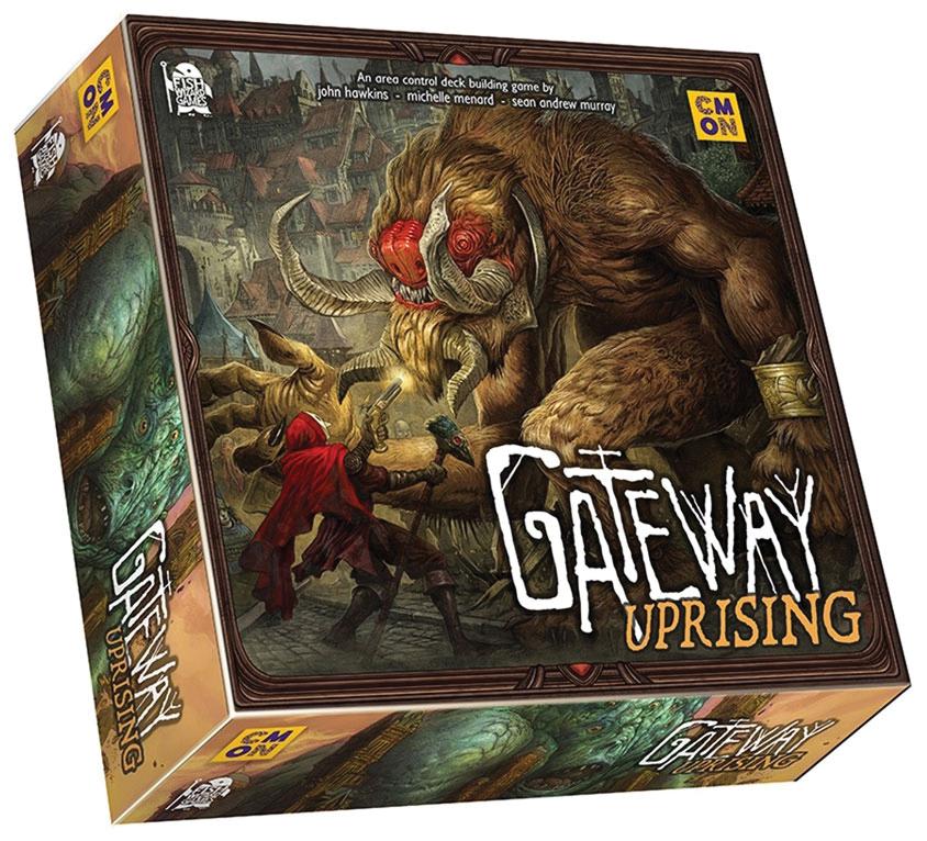 Gateway Uprising Box Front