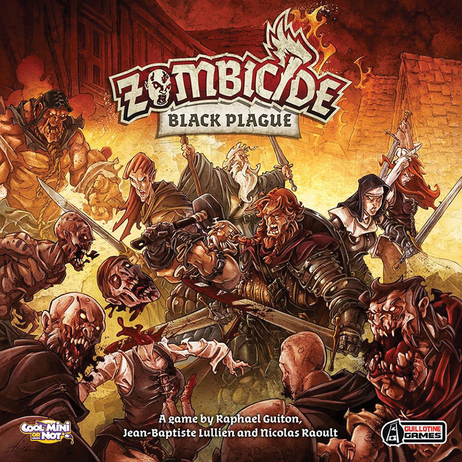 Zombicide: Black Plague Box Front