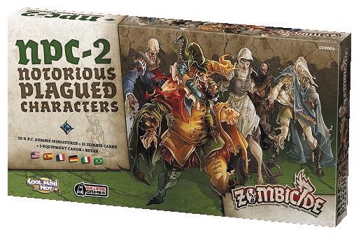Zombicide: Npc #2 Box Front