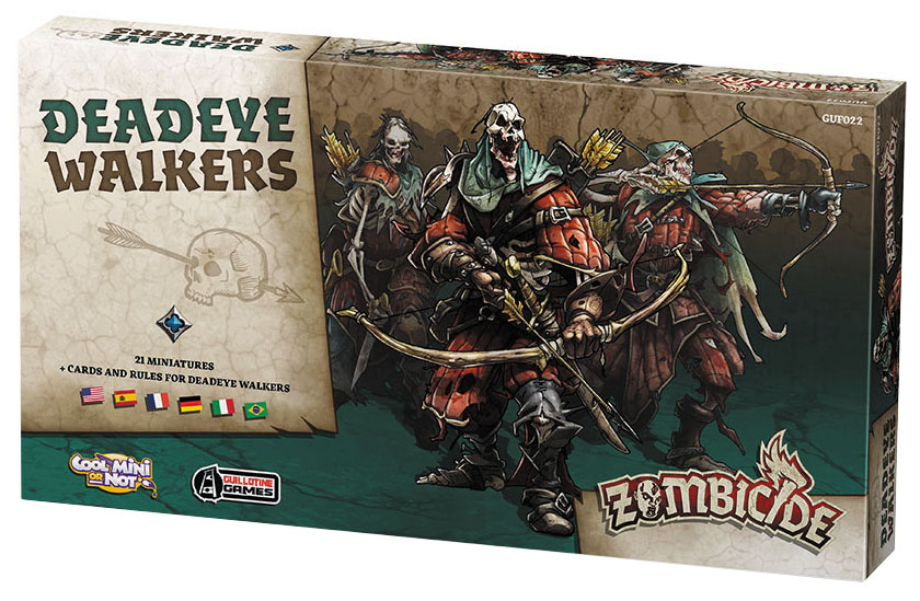 Zombicide: Deadeye Walkers Box Front