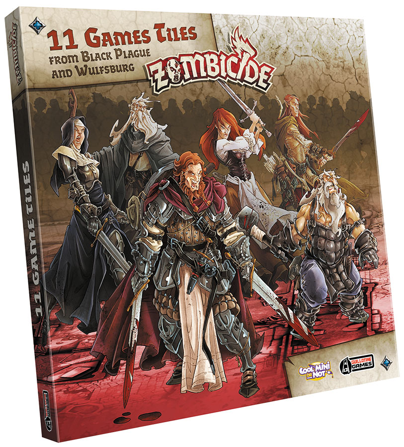 Zombicide: Extra Tiles Pack Box Front