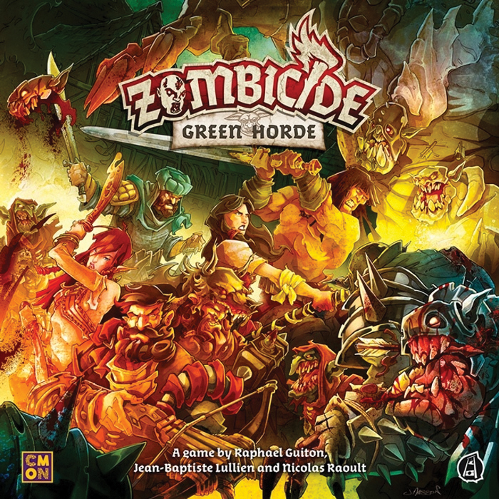 Zombicide: Green Horde Box Front