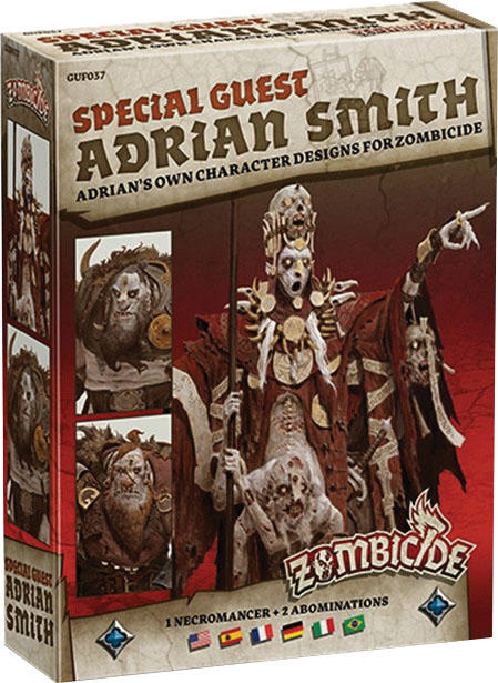 Zombicide: Green Horde - Special Guest Artist Adrian Smith 2 Box Front
