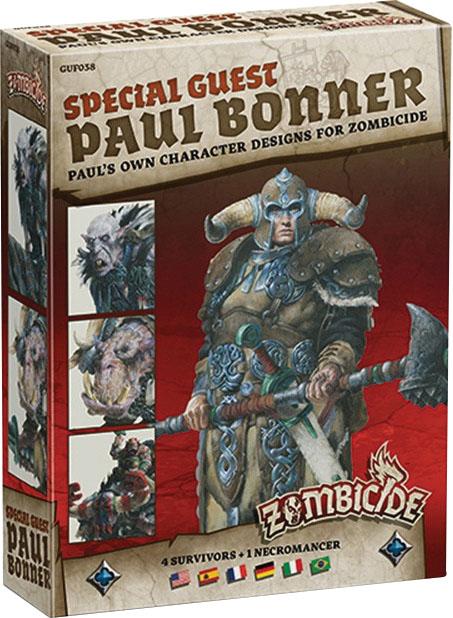 Zombicide: Green Horde - Special Guest Artist Paul Bonner 2 Box Front