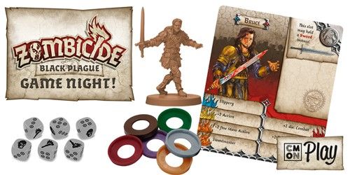 Zombicide: Black Plague Game Night Kit Box Front
