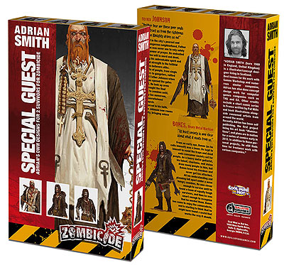 Zombicide: Guest Artist Survivor Sets - Special Guest Box 2 (adrian Smith) Box Front