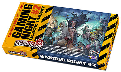 Zombicide: Game Night Kit #2 Box Front