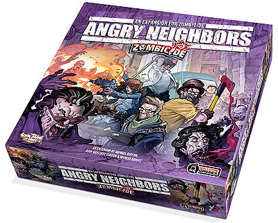 Zombicide: Angry Neighbors Box Front
