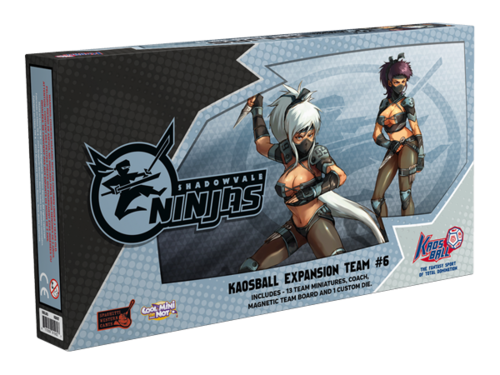 Kaos Ball: Shadowvale Ninjas Box Front