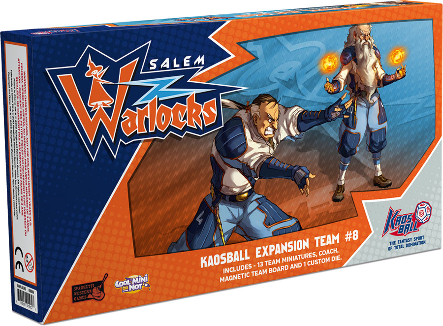 Kaos Ball: Salem Warlocks Box Front