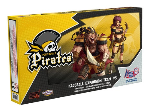 Kaos Ball: Port Royale Pirates Box Front