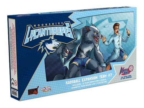 Kaos Ball: Moonshire Lycanthropes Box Front