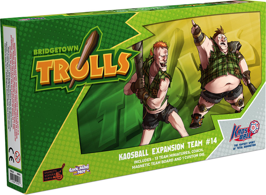 Kaos Ball: Bridgetown Trolls Box Front