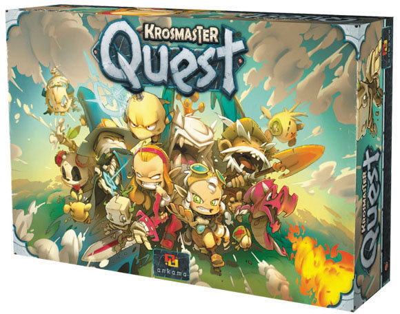 Krosmaster Quest: Core Box Box Front
