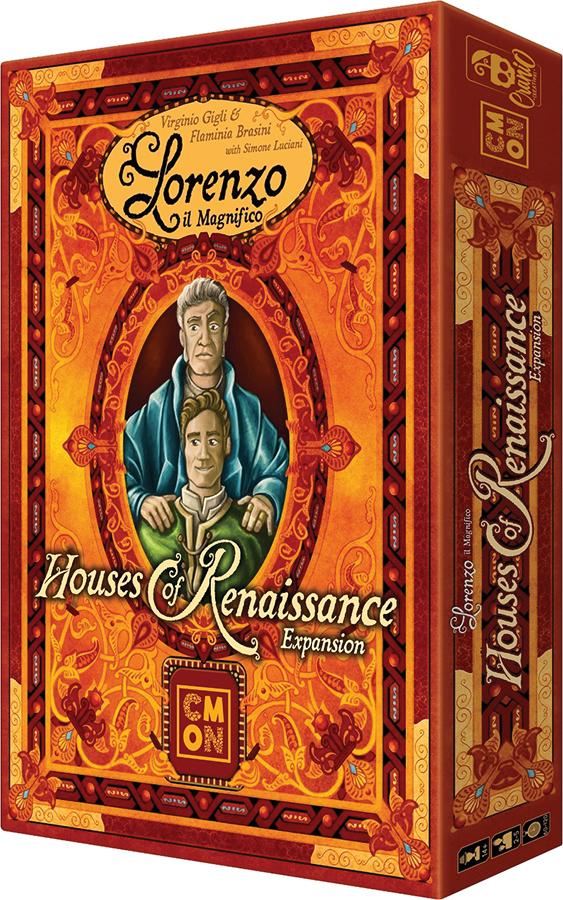 Lorenzo Il Magnifico: Houses Of Renaissance Expansion Box Front