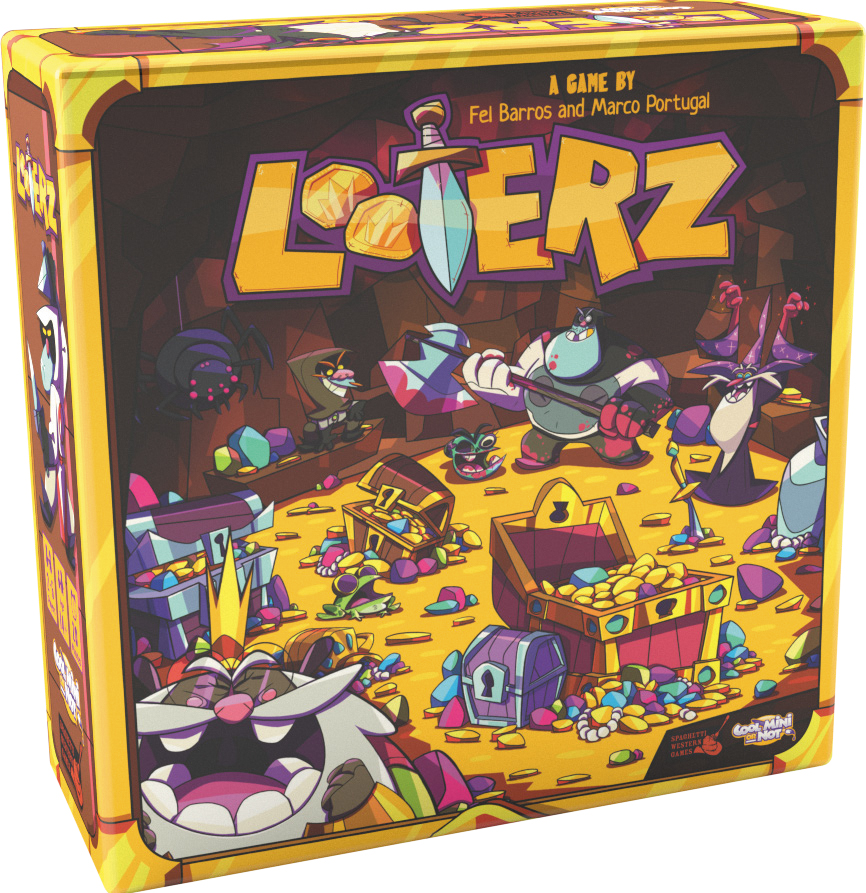 Looterz Box Front