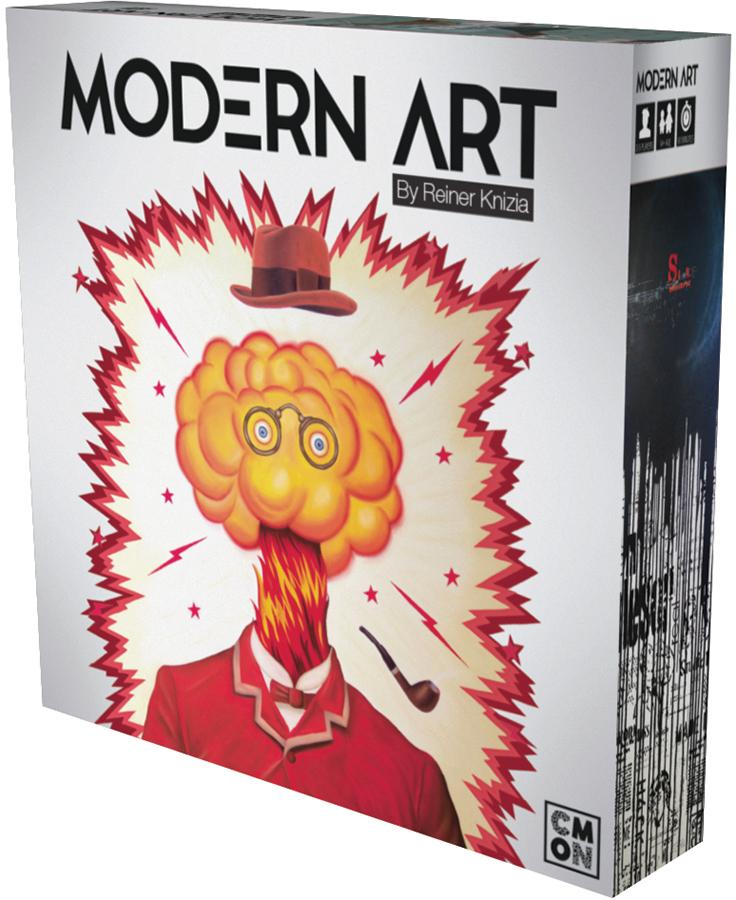 Modern Art Box Front