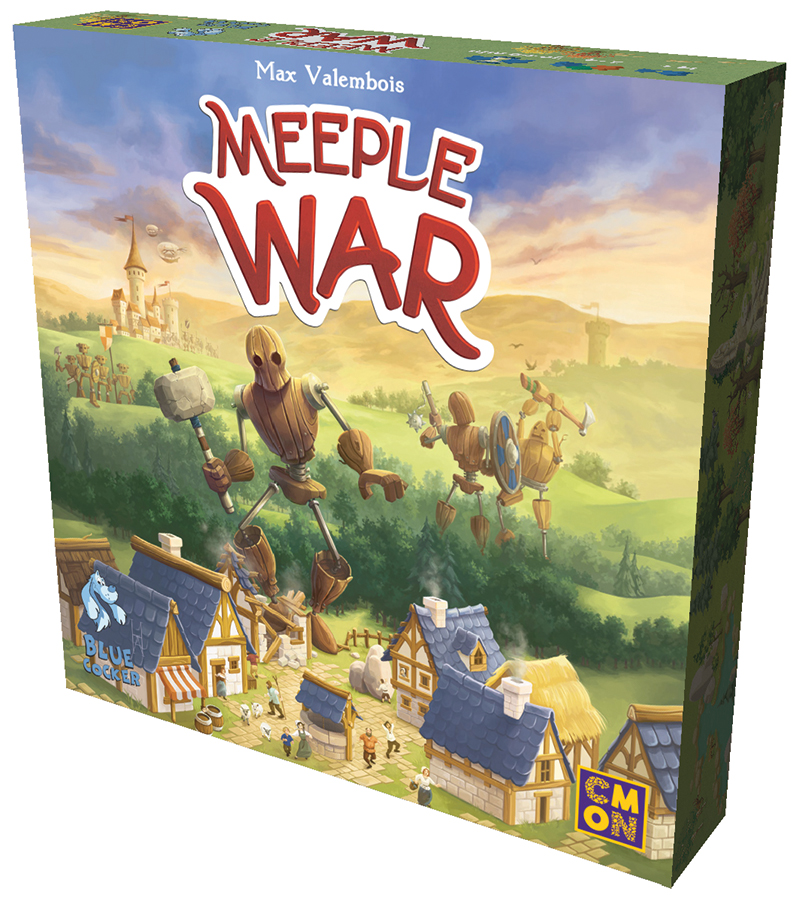 Meeple War Box Front