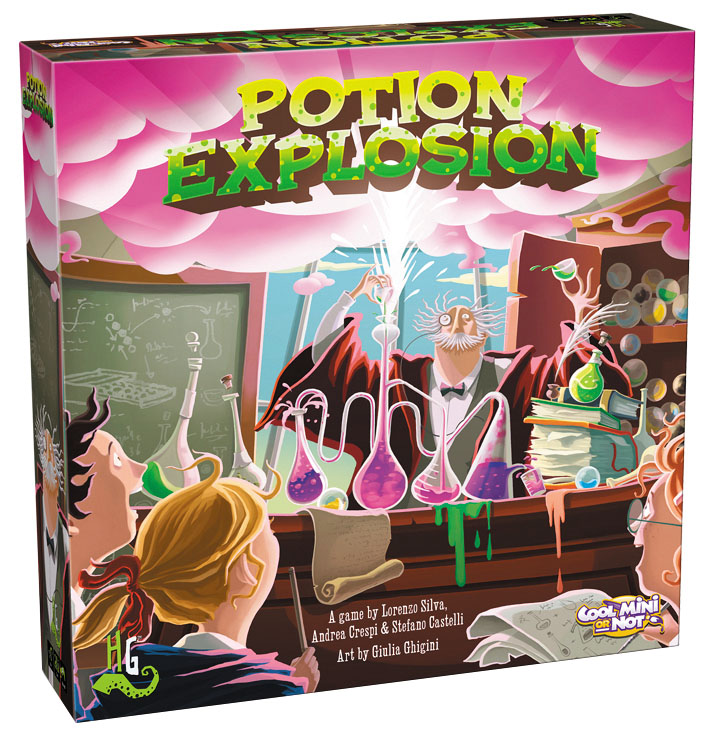 Potion Explosion Box Front