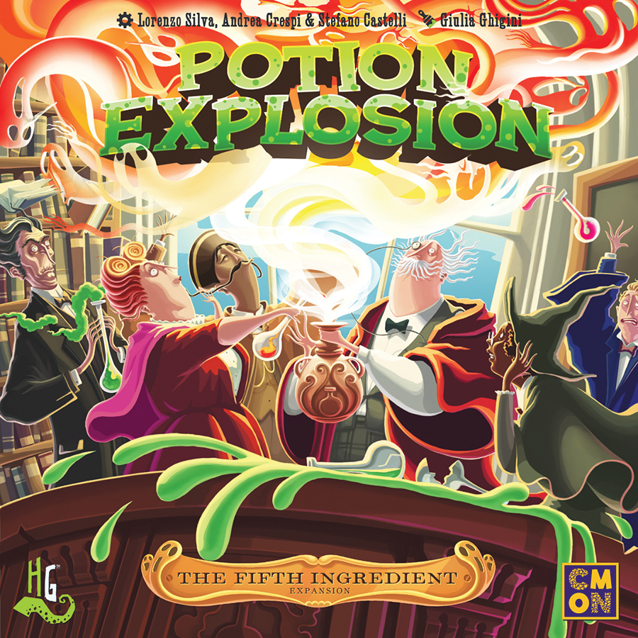Potion Explosion: The Fifth Ingredient Box Front