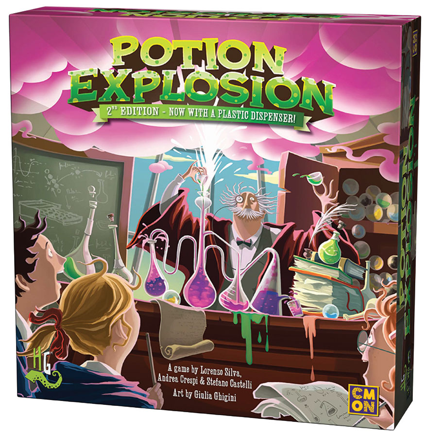 Potion Explosion 2nd Edition Game Box