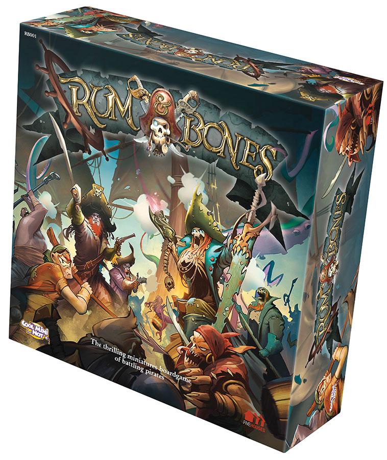Rum & Bones Core Box Front