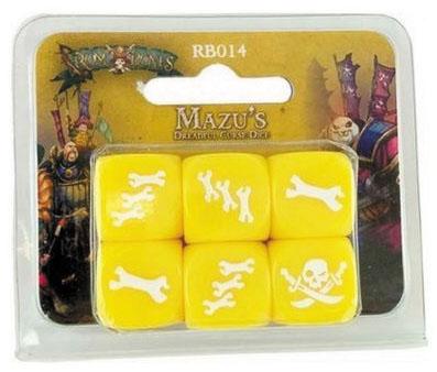 Rum & Bones: Mazu`s Dreadful Curse Dice Box Front