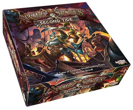 Rum & Bones: Second Tide Core Box Box Front