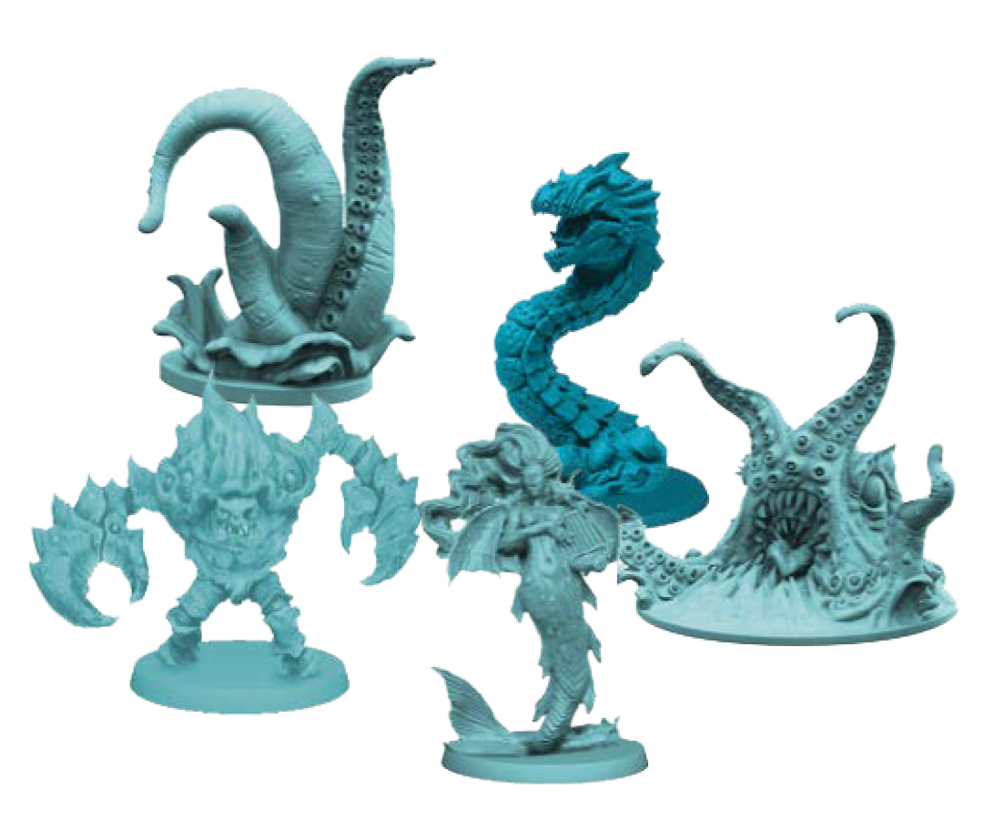 Rum & Bones: Sea Monsters Box Front