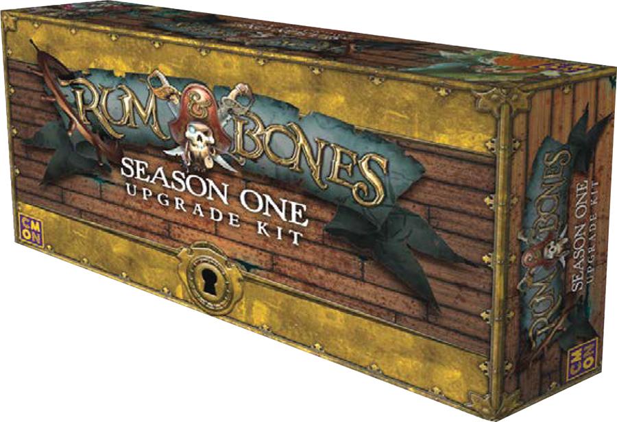 Rum & Bones: Second Tide Upgrade Kit Box Front