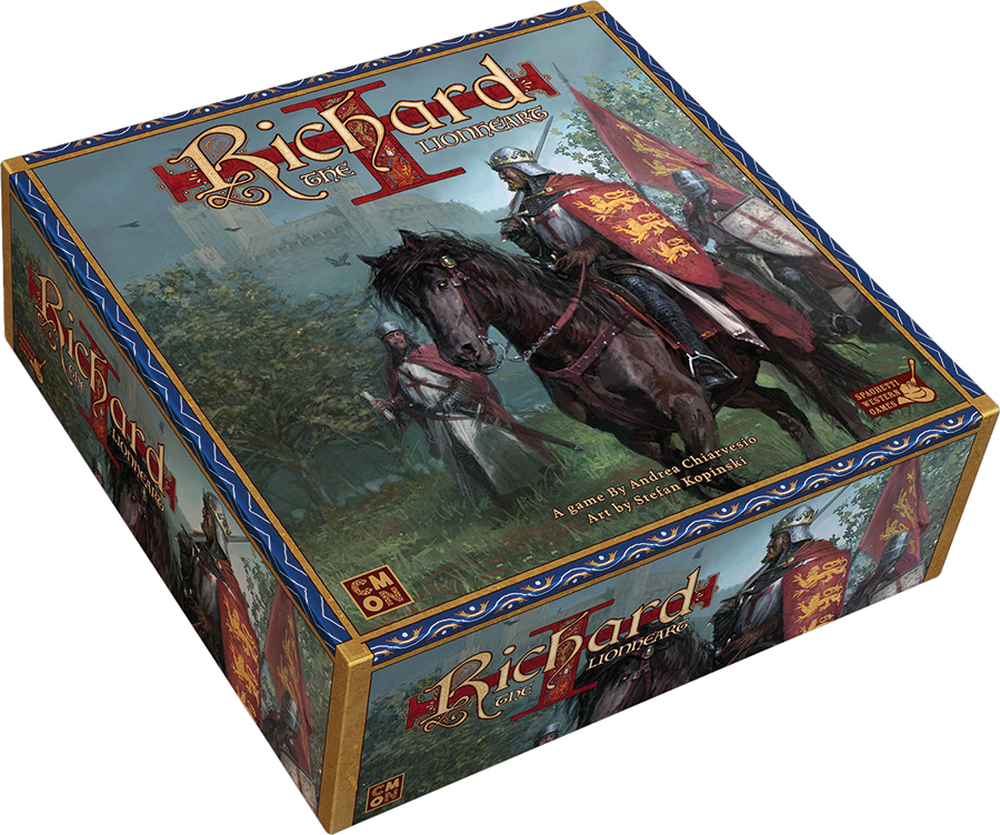 Richard The Lionheart Box Front