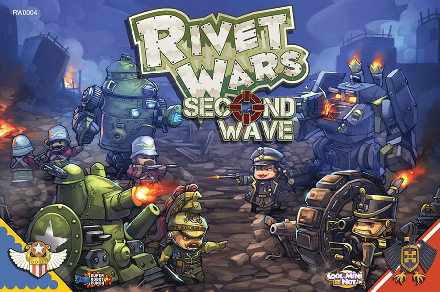 Rivet Wars: Second Wave Box Front