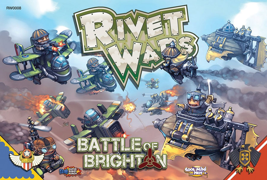 Rivet Wars: Battle Of Brighton Box Front