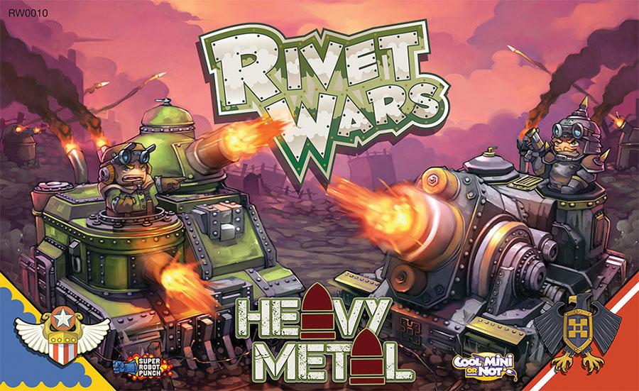 Rivet Wars: Heavy Metal Box Front