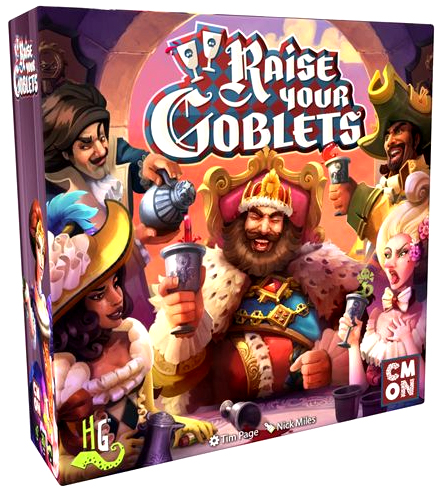 Raise Your Goblets Box Front