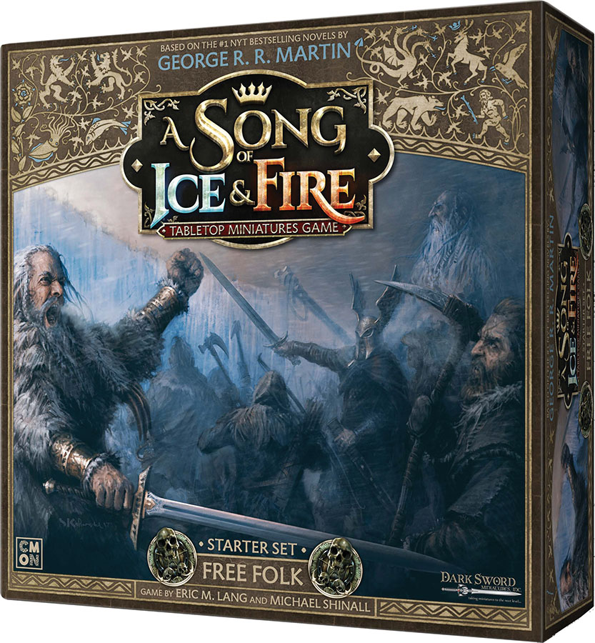 A Song Of Ice & Fire: Tabletop Miniatures Game: Starter Set - Free Folk Game Box